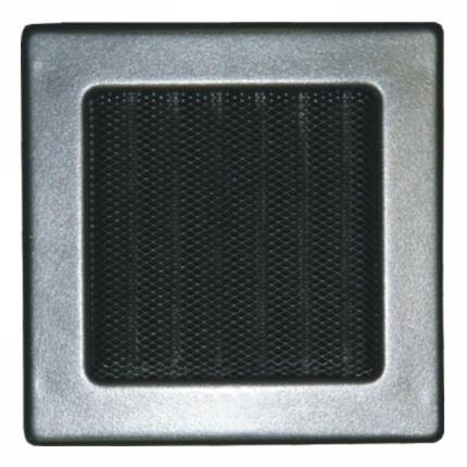 Grille D 1 II - 170 x 170 mm graphite
