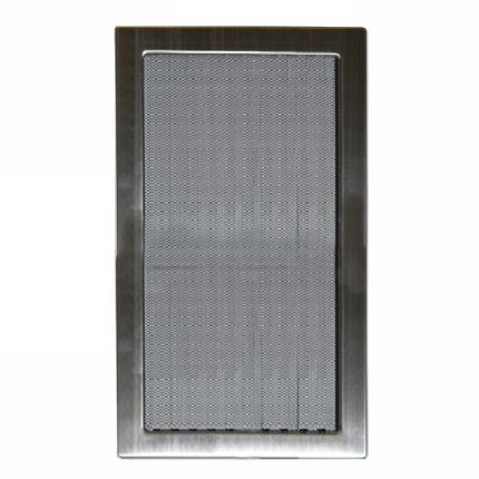 Grille D 2 II - 170 x 300 mm stainless