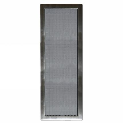 Grille D 3 II - 170 x 500 mm stainless