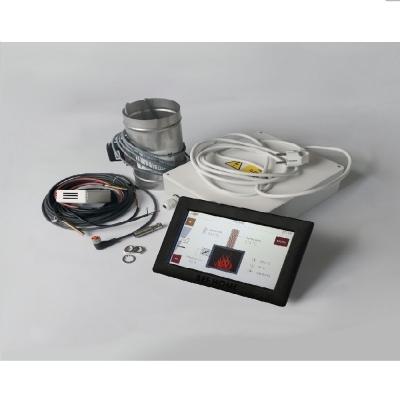 Automatická regulece hoření pro teplovodní KV
