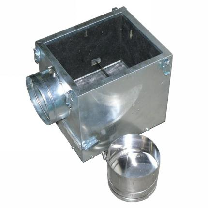 Filtrační skříň kventilátoru 350 sklapkou