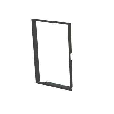 Zazdívací rámeček 1x90° černý BeF Tower 5 H