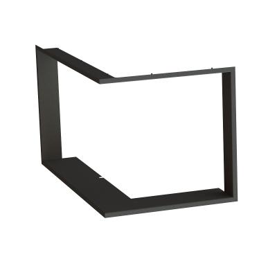 Zazdívací rámeček 1x90° černý BeF Aquatic WH (V) 80 CP/CL/, (V) 85 CP/CL/