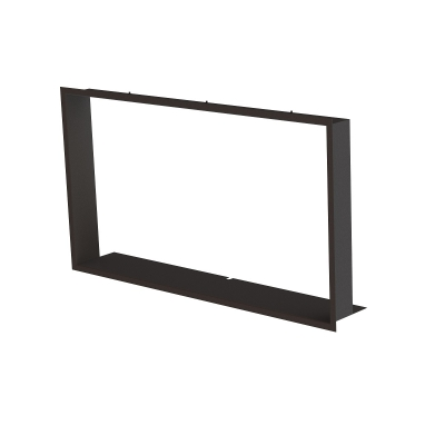 Zazdívací rámeček 1x90° černý BeF Trend V10