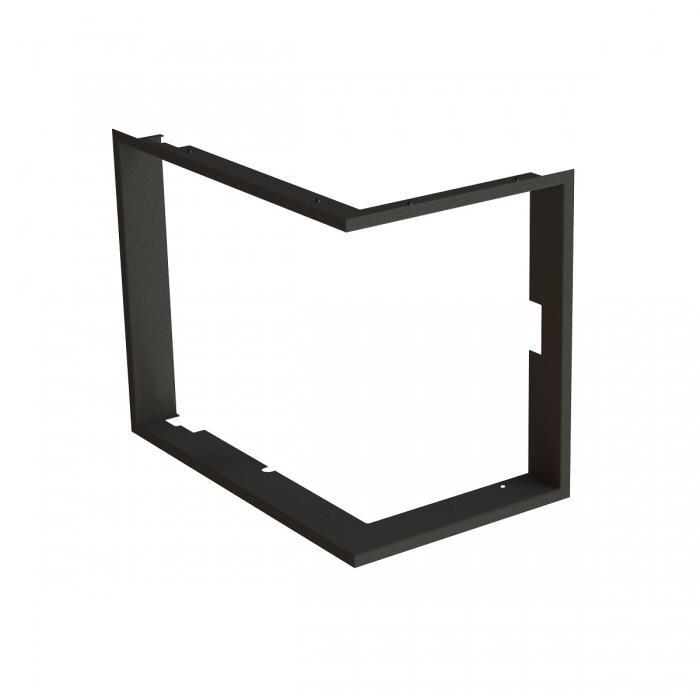 Frame 1x90° black BeF Aquatic WH (V) 60 CP/CL/, (V) 65 CP/CL/